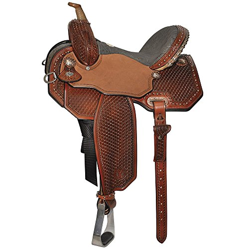 Circle Y Lisa Lockhart Flex2 Ambition Barrel Saddle 14