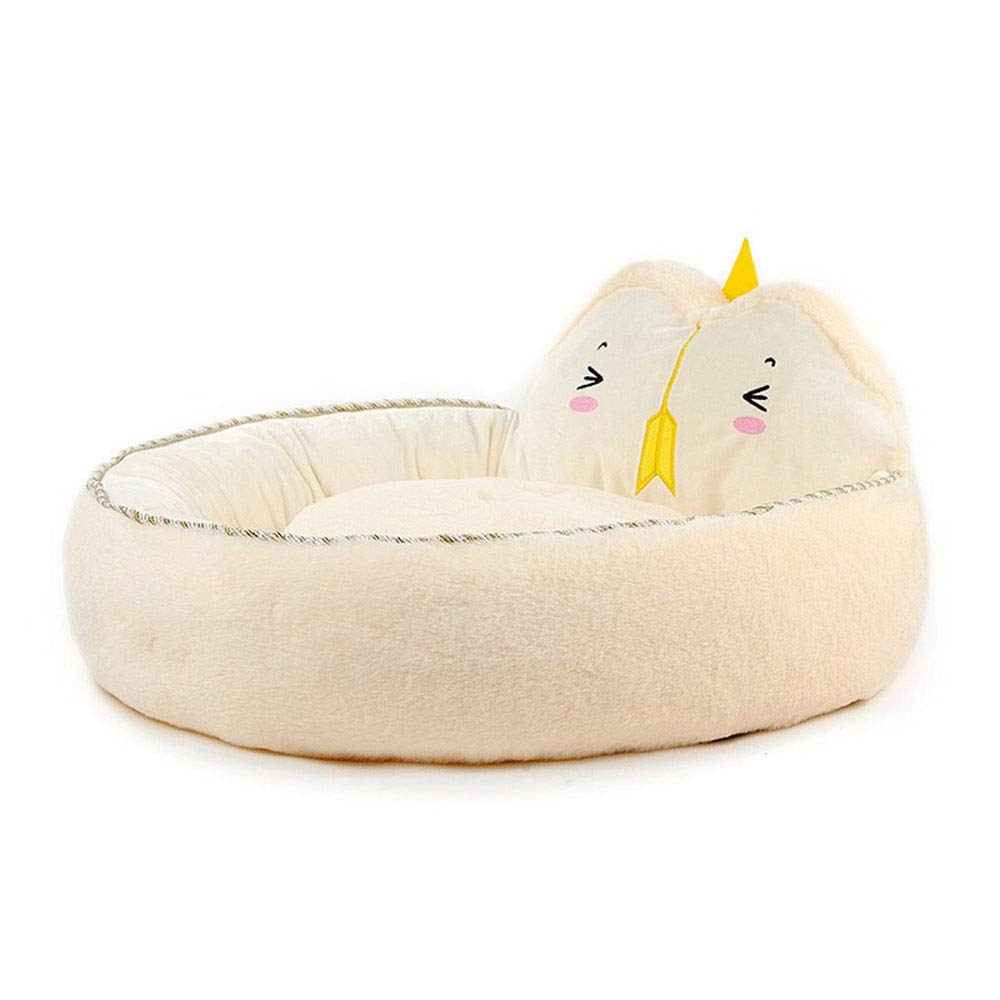 D Xiao Jian- Pet Nest Kennel Cat Litter Full Washable Autumn And Winter Pet Nest Dog Mat VIP Teddy Puppy Kennel Pet Supplies pet bed (color   D)