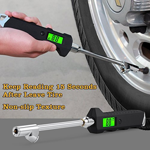 Webetop Heavy Duty Truck Rv Cars Tire Pressure Gauge 0