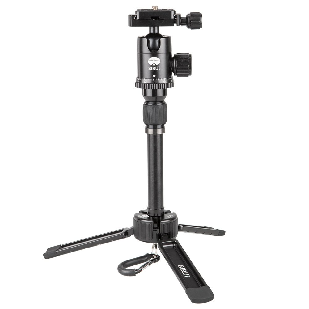 SIRUI 3T-35 Table Top/Handheld Video Tripod with Ball Head - Black by Sirui