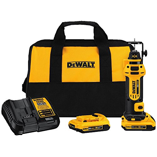 DEWALT DCS551D2 20V Max Lithium Ion Cordless Drywall Cut-Out Tool Kit - http://coolthings.us