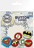 GB Eye LTD, DC Comics, Logos, Set de Boutons