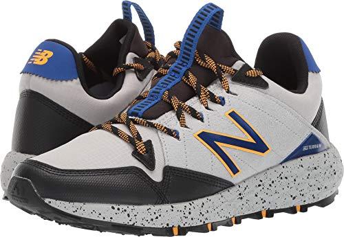 New Balance Men's Crag V1 Fresh Foam Running Shoe MARBLEHEAD/BLACK/TEAM ROYAL 14 2E US (Best Price Mens New Balance 846)