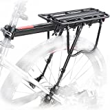 comingfit 110LBS Capacity Adjustable Bike Luggage Cargo Rack