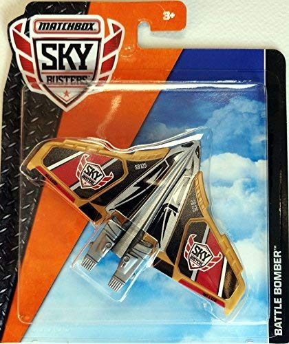 Matchbox Sky Busters - New 2018 Model - Battle Bomber