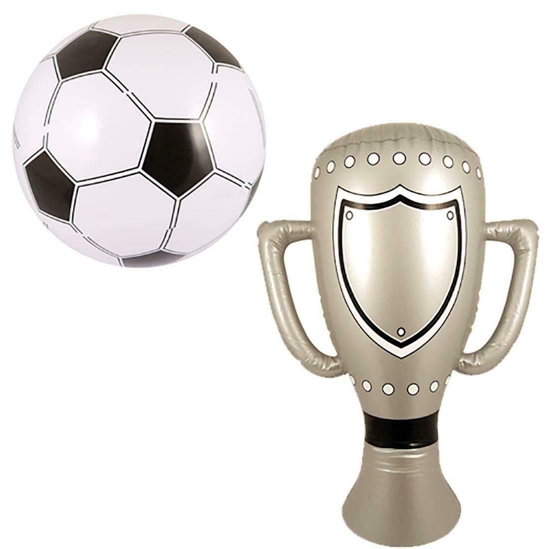 Amazon.com: My Choice Stuff - Conjunto de trofeo y fútbol ...