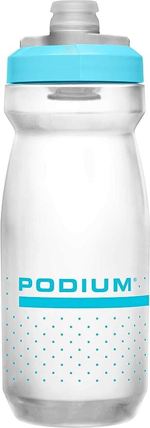 CamelBak Podium bidón de agua 620 ml Bicicleta, Deportes Azul, Translúcido Polipropileno (PP) - Bidones de agua (620 ml, Bicicleta, Deportes, Azul, Translúcido, Polipropileno (PP), Silicona, Giro): Amazon.es: Deportes y aire libre