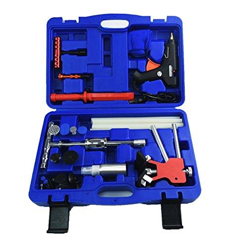 Furuix PDR Kits 53pcs Paintless Dent Repair Kit PDR Dent Puller Kit Dent Lifter Paintless Dent Removal Auto Dent Puller