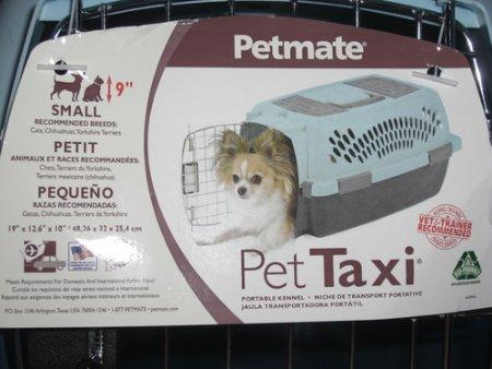 petmate Pet Taxi Fashion Caseta (pequeña/Azul Air/Café). Carrier, Caja, transporte, viajes: Amazon.es: Productos para mascotas