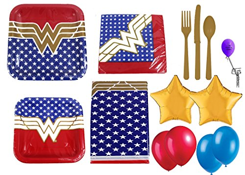 Wonder Woman 16 People Party Pack