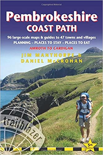 Pembrokeshire Coast Path Guidebook (Trailblazer)