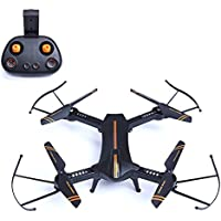 Lilys Gift RC Quadcopter Mini 4-Axis Foldable Wifi FPV HelicopterDrone W/720P HD Camera
