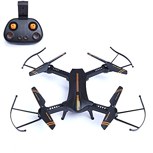 Zlimio 360º Rollover Mini 4-Axis Foldable Wi-Fi FPV RC Quadcopter Helicopter Drone with 720P HD Camera