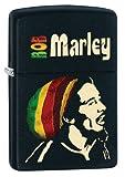 Zippo Bob Marley Pocket Lighter with Deep Matte Finish