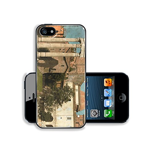 MSD Premium Apple iPhone 5 iphone 5S Aluminum Backplate Bumper Snap Case Image ID 27366435 Vintage image of an urban scenic in Rome Italy (Case Rome Iphone 5)