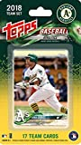 : Oakland Athletics 2018 Topps Factory Sealed Special Edition 17 Card Team Set with Jed Lowrie and Stephen Piscotty Plus