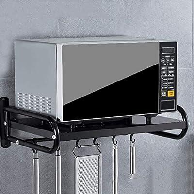 ZXUE Estante de la Cocina Colgador de Pared Horno microondas Rack ...