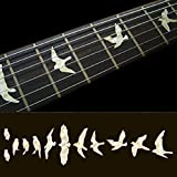 Fret Markers for Guitar & Bass Inlay Sticker Decals -Birds /WT