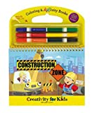 Construction Zone Coloring & ARTivity Book