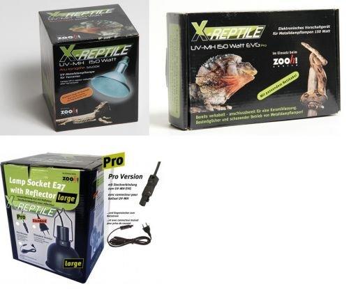 X-Reptile 50 Watt Set (Strahler + Vorschaltgerät + Lampenfassung)
