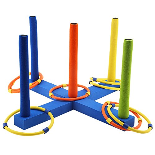 [YOOYOO Kids Outdoor Fun Sports Cast Ring Layer Up Throwing Game Classic Ringtoss Toy] (Halloween Bean Bag Toss)