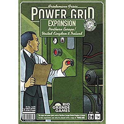Power Grid: Northern Europe/UK & Ireland Recharged: Toys & Games