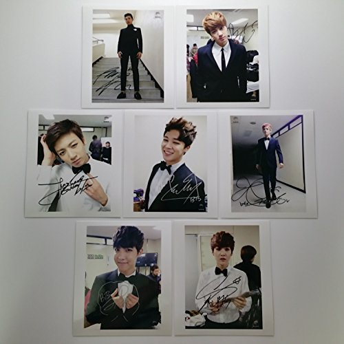 Bts Bangtan boys fancafe year 2013 photo set - Packages Autographed