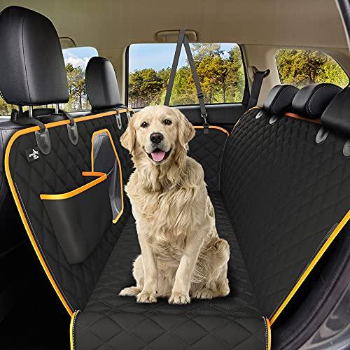 Funda asiento trasera de coches, para perros, impermeable