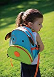 Skip Hop Zoo Toddler Kids Insulated Backpack Darby Dog Boy, 12-inches, Multicolored