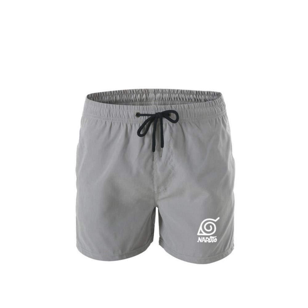 TSHIMEN Pantalones Cortos Hombre Joven Naruto Pantalones ...