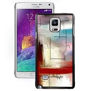 Fashion DIY Custom Designed Samsung Galaxy Note 4 Phone Case For Modern Line Art Phone Case Cover