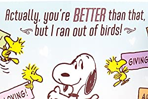 Hallmark Funny Mother's Day Greeting Card for Wife (Peanuts