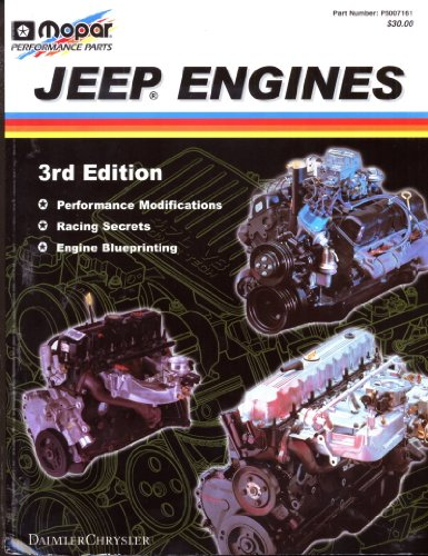 Mopar Jeep Engines 3rd Edition Performance Modifications, Racing Secrets and Engine Blueprinting (Part #P5007161)