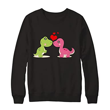 Pullover Sweatshirt Teely Shop Womens Cute Romantic Love Valentines Day Gildan