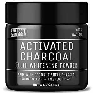 activated charcoal teeth whitening powder vegan award winning product by pro. Black Bedroom Furniture Sets. Home Design Ideas