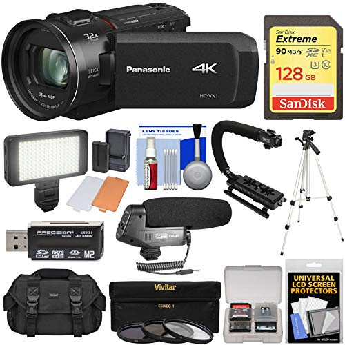 Panasonic HC-VX1 Wi-Fi 4K Ultra HD Video...