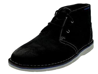 Clarks Men's Sandover Hi Black Boot 7.5 D - Medium