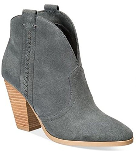 Report Women's Doman Ankle Bootie, Grey, 8 M US