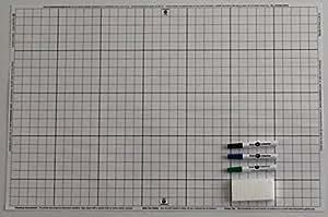 Amazon Com Dry Erase White Battlemat 24 Quot X 36 Quot Double