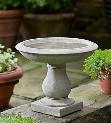 (Campania International B-141-CB Beauvoir Birdbath, Copper Bronze Finish )