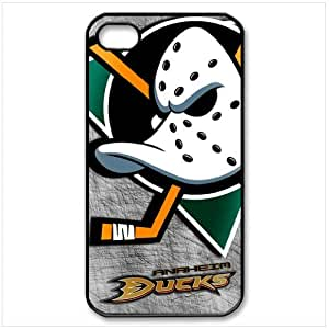NHL Anaheim Mighty Ducks iPhone 4 4S Hard Case Cover Best Choice Birthday Gift