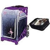 Zuca Ice Dreamz Lux Sport Insert Bag & Purple Frame + Gift Utility Pouch