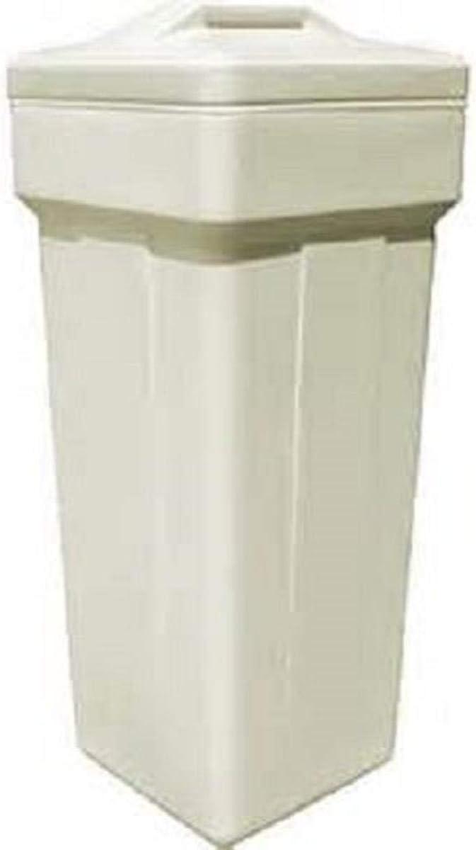 DuraWater 1833, Black Water softener salt brine tank safety float (18x33 Inches Round - -