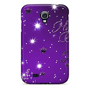 Hot Happy Holiday Purple First Grade Tpu Phone Case For Galaxy S4 Case Cover