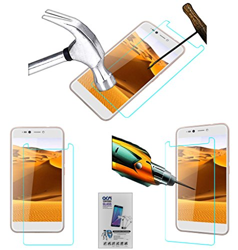 Acm Tempered Glass Screenguard Compatible with Micromax Selfie 2 Note Screen Guard Scratch Protector