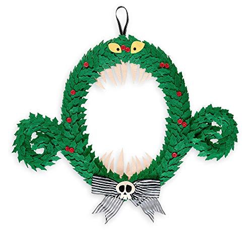 Disney The Nightmare Before Christmas Wreath - Limited Edition 2018 Plush Parks