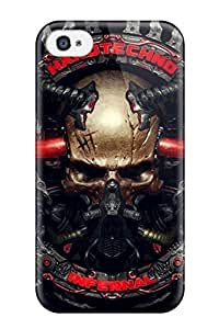 Special Design Back Skull Phone Case Cover For Iphone 4/4s