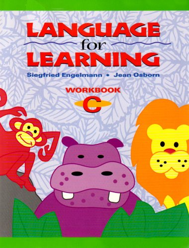 Language for Learning, Workbook C (Package of 5) (DISTAR LANGUAGE SERIES)
