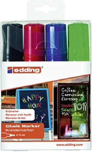 Window Marcador 4090, estuche de 4 Azul Negro, Rojo, Azul 4 y verde 945a3e