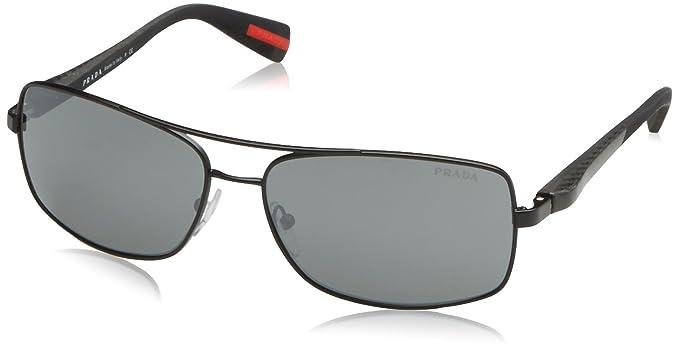Prada Sonnenbrille 50OSSUN_1BO7W1 (62 mm) Black, 62